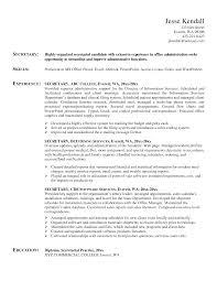 resume example 48 secretarial resume examples general office resume example secretary resume examples samples school secretary resume examples 48 secretarial resume examples