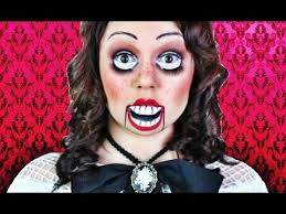 creepy dummy doll makeup tutorial