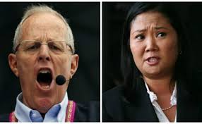 Resultado de imagen para fotos del debate presidencial entre keiko fujimori y PPK