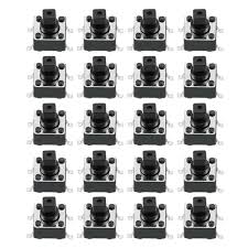 <b>6x6x7</b>.3mm Momentary Panel PCB SMD SMT Push Button SPST ...