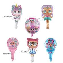 (Discount ) 1pcs <b>Cartoon</b> Surprise Doll Aluminium Foil LOL Balloons ...