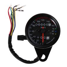 B728 <b>Universal</b> Dual Odometer Speedometer Gauge Speed Meter ...