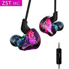 iyoukesin <b>KZ ZST Colorful BA</b>+DD in Ear Earphone HiFi: Amazon.in ...
