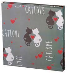 """<b>Тарелка десертная</b> """"cat's love"""" 20,3*20,3*2 см. <b>Lefard</b> (230-058)"""