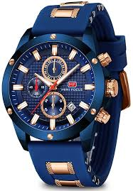 Men's Watch Analogue Military Chronograph ... - Amazon.com