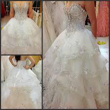 Ball Gown Princess Wedding Dresses <b>2015</b> Layered <b>New Arrival</b> ...
