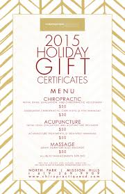 chiropractique s holiday gift certificates chiropractique tique holiday burgundy promo web