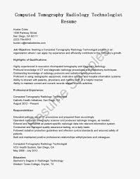 radiologic technologist resume radiologic technologist resume 0912