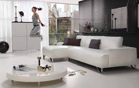 White Chairs For Living Room Contemporary White Leather Living Room Furniture Best Living