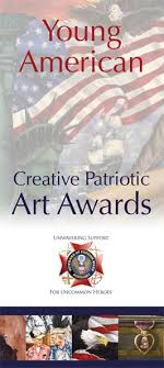 Young American Creative Patriotic Art Contest   VFW Auxiliary VFW Auxiliary