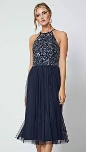 <b>blue</b> - <b>Sequin</b> dresses - Dresses - Women | Debenhams