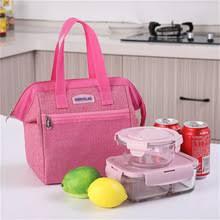 Модная Портативная <b>Термосумка для ланча</b>, сумка для еды ...
