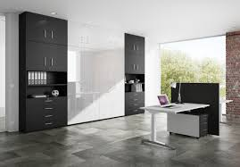 home office furniture contemporary decor amazing home office design ideas offer modern white black paint wooden black contemporary home office