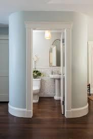 small spaces powder  traditional powder room