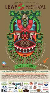 leaf festival poster archive leaf 2015