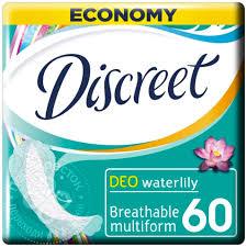 <b>Прокладки Discreet</b> Deo Water Lily Multiform <b>ежедневные 60шт</b>