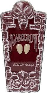 Scarecrow Small Deluxe Custom Fangs: Clothing - Amazon.com