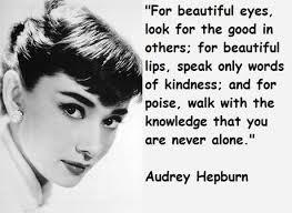 Audrey Hepburn Quotes - Paperblog