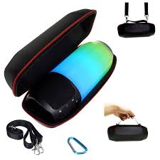 <b>1PCS EVA Speaker</b> Bags <b>Protective Speaker</b> Box Travel Bag Pouch ...