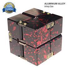 Buy Zoejoy Camouflage Infinity <b>Cube Aluminum Alloy</b> Fidget <b>Cubes</b> ...