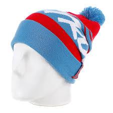 Голубая мужская <b>шапка True Spin Jacquard</b> Styles Blue/Red с ...