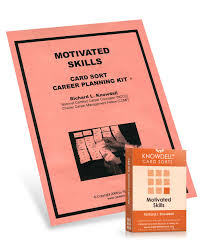 knowdell motivated skills card sort revised acer motivated skills card sort revised
