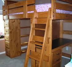 bunk loft factory twin loft bed desk shelves sturdy solid wood bunk bed dresser desk