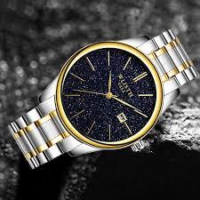 <b>WLISTH Men</b> Watch Double Display Wristwatch Small Pointer Work ...