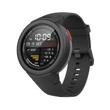 <b>Amazfit Verge Multifunctional</b> Smartwatch - Black