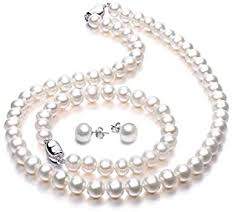 Pearl - Jewellery Sets / Women: Jewellery - Amazon.co.uk