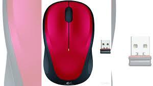 Оригинальная беспроводная <b>мышь Logitech M235 Red</b> купить в ...