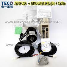 2019 <b>Genuine TECO</b> 750W <b>Servo</b> Motor JSMA LC08ABK01 Or 00 ...
