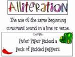 Images & Illustrations of alliteration