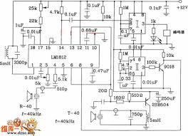 car security alarm circuit diagram   sensitive intruder alarm    car reverse alarm circuit diagram other circuit basic circuit