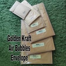 Golden <b>Kraft</b> Air Bubbles Envelope #Ready Stock   Shopee Malaysia