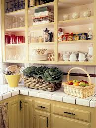 country kitchen inviting