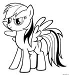 Раскраски моя милая пони онлайн