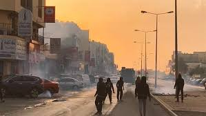 Image result for سرکوب وحشیانه تظاهرات مردم بحرین با گلولههای ساچمهای