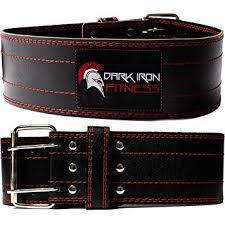 Dark Iron Fitness <b>Genuine</b> Leather Pro Weight Lifting Belt for <b>Men</b> ...