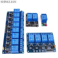5V,<b>12V 1 2 4</b> 8 channel relay module with optocoupler .Relay Output ...