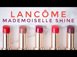 THE PERFECT SUMMER LIP?! <b>LANCÔME Mademoiselle Shine</b> ...