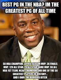 Niggas be like Let me go raw I'm clean - Magic Johnson - quickmeme via Relatably.com