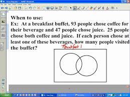 venn diagram word problems   passy    s world of mathematics