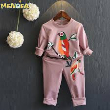 2019 Wholesale <b>Menoea Girls</b> Clothing Set 2016 Autumn New <b>Long</b> ...