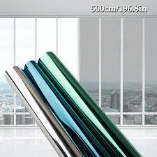 <b>40/50/60/70/80</b>/90 * 500 CM <b>window</b> film <b>glass</b> stickers Reflective ...