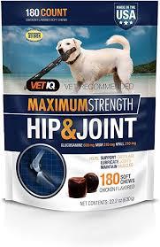 VetIQ Maximum Strength Hip And Joint Supplement ... - Amazon.com