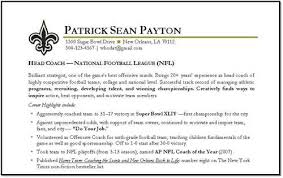 take a look at the below given sample of  lt a href  quot http   finder    football coach resume sample related