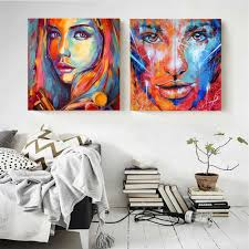 <b>DIY Number</b> Painting African Woman Portrait Canvas Painting Paint ...