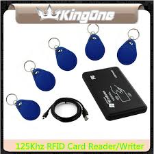 USB <b>125Khz RFID EM4305</b> T5577/T5567 Card Reader/Writer ...