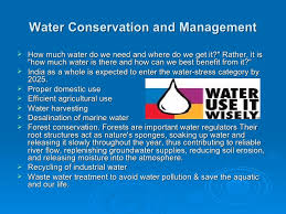 water conservation amp management water conservation and management